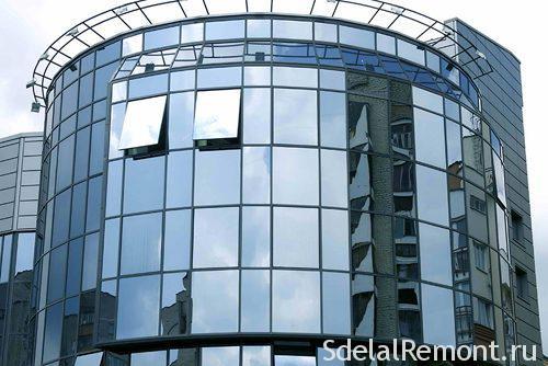 Алюмінієве скління фасадів