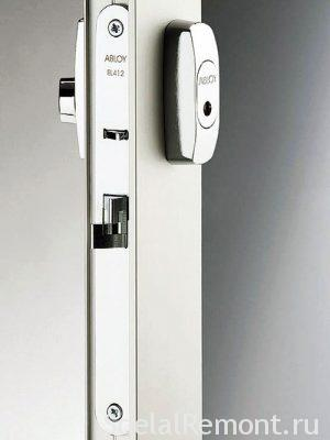 Locks for aluminum entrances