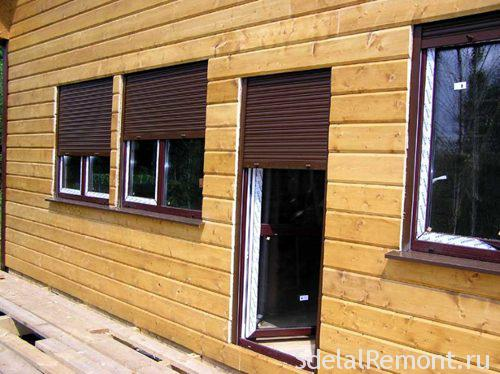 Vandal-proof shutters