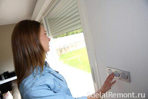 Vandal-proof shutters on windows