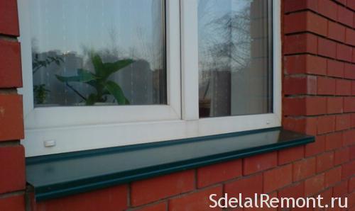 Водовідлив віконний технічні характеристики