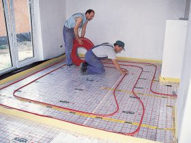 The need for floor heating