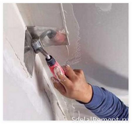 Как сделать угол ремонт уголок