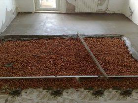 Шар стяжки теплої підлоги
