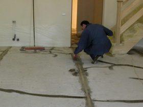 Монтаж інфрачервоного підлоги під ламінат