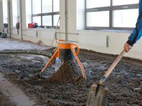 Equipment for the screed