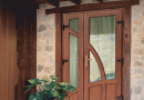 PVC entrance doors - modern design for any space