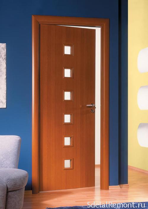 Міжкімнатні двері з покриттям ПВХ
