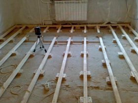 Маяки для цементной стяжки