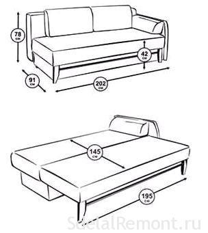 Способ сделать мегкий диван-кровать своими руками видео
