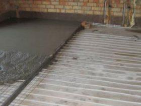 Етапи монтажу теплого водяного статі