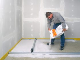 чистова стяжка підлоги