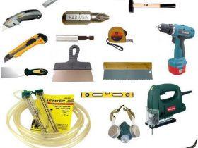 Инструменты для сухой стяжки