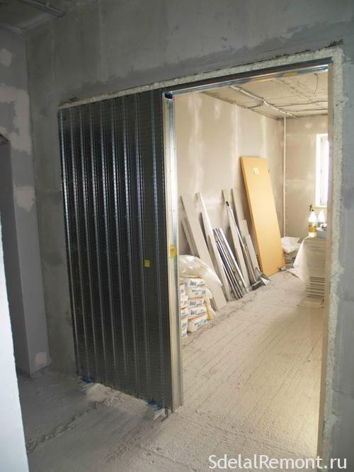 Касссеты для раздвижных дверей