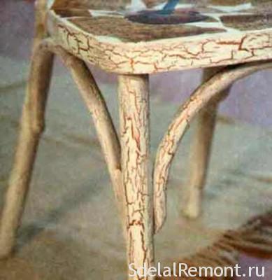 Кракелюр мебели