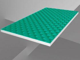 Mats for warm water floor