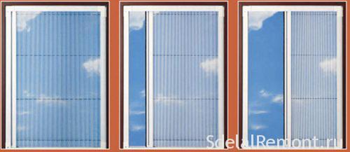 Сетка на окна на ПВХ