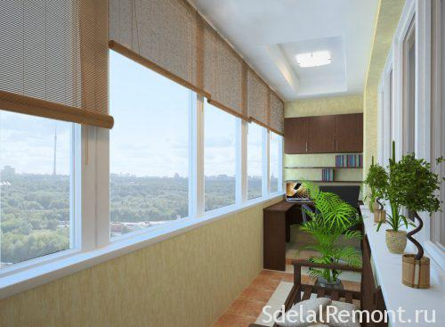 Остекление окон и балконов