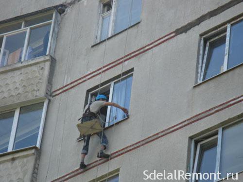 Оформлення укосів вікон