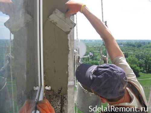 Обробка віконних укосів