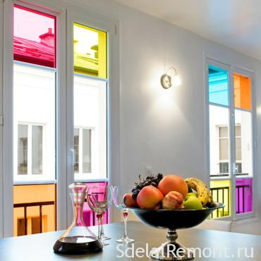 Stained glass windows,, dimensions