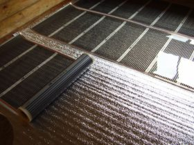 The substrate for underfloor