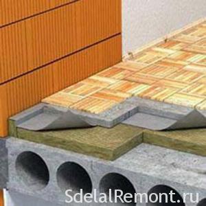 Как выровнять пол под плитку своими руками и чем стяжка под бетонное перекрытие