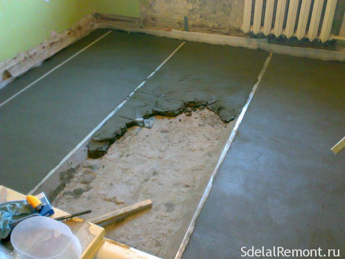 Полы залитые бетоном купить бетон кременчуг