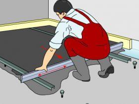 Ровнителями для підлоги