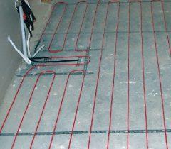 Электрический теплый пол без стяжки