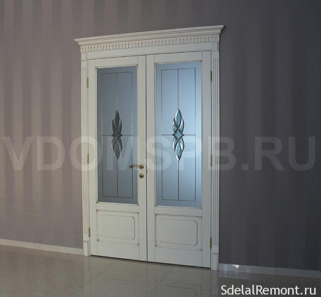 дверь из массива бука