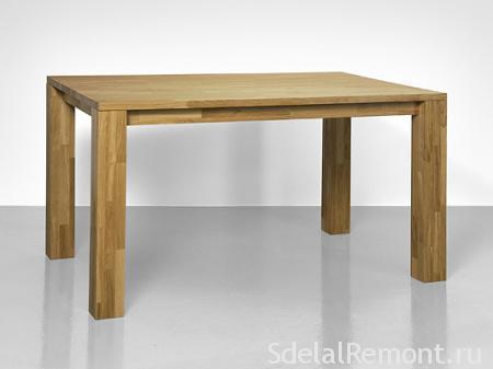 Самодельная модель кухонного стола