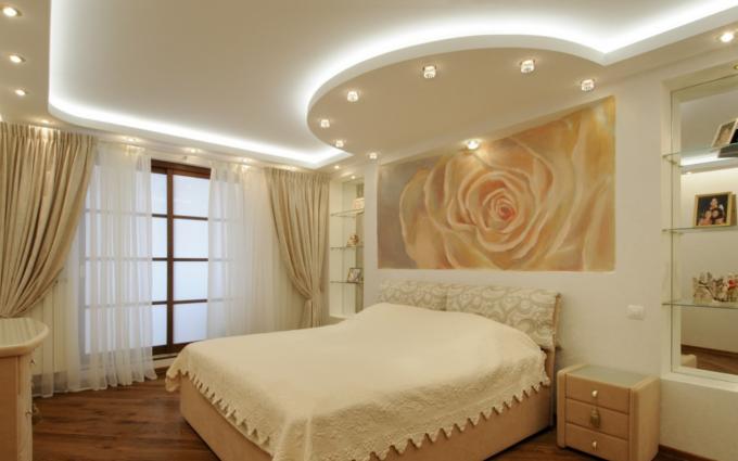 Спальня для девушки с полукругом