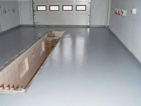 Tie layer underfloor