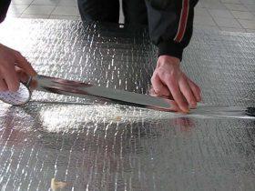 Монтаж теплої підлоги зі стягуванням