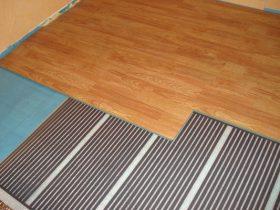 Тепла підлога без стяжки