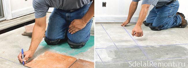 tiling technology for marking