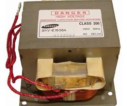 Фото трансформатора микроволновки