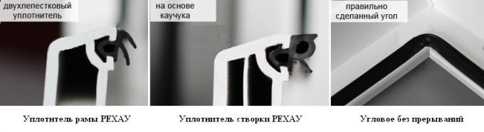 Уплотнители-РЕХАУ окон