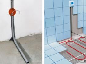Instructions apparatus warm electric floor
