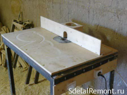 Как сделать стол для фрезера своими руками чертежи