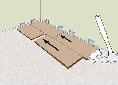 Инструкция по укладка ламината