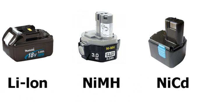 Нікель-металгідрыдных акумулятарныя батарэі