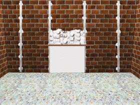 align the walls of beacons using plaster