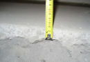 Selection floor screed thickness