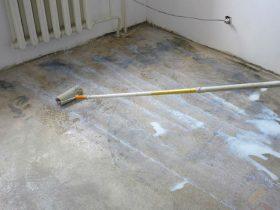Вирівнювання основи підлоги в квартирі
