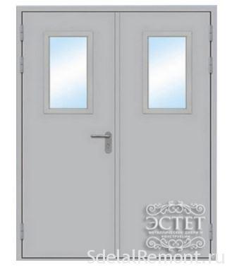 Металлическая противопожарная дверь Эстет