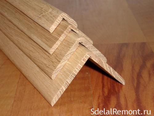 деревянный уголок