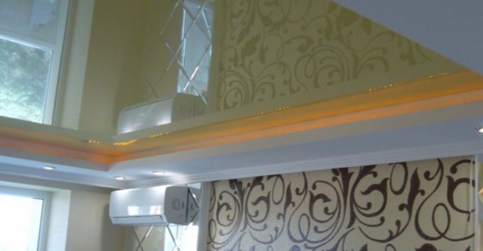 Variants Of Beautiful Curly Plasterboard Ceilings In The Hall From Ideas To Assembly