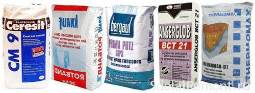 Цементный раствор для откосов крушение бетона